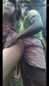 Desi village bhabhi hard fucking in forest with ileagal lover and clear Bengali audio