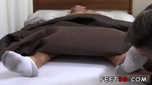 Teen boy huge feet gay Tommy Gets Worshiped In His Sleep