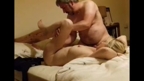 Stunning Amateur Wife Getting A Heavy Load On Her Tits